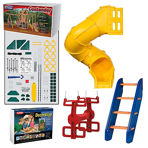 Contender Build It Yourself Gold Play Set