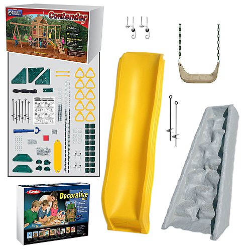 Contender Build It Yourself Silver Play Set