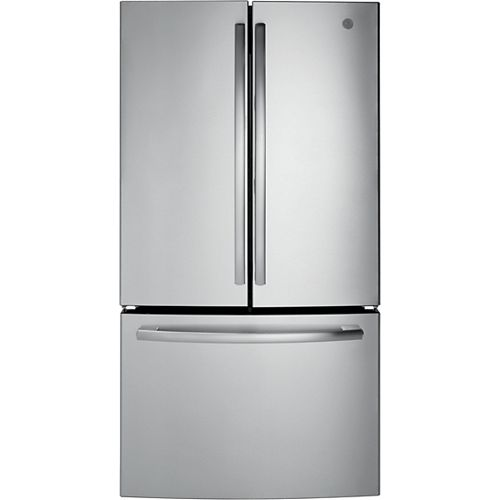 36-inch W 27 cu. ft. French-Door Refrigerator in Stainless Steel