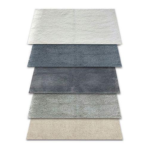 Tapis de bains, 60,96 cm x 1,21 m (24 po x 48 po), Drylon, 32 oz. (styles assortis)