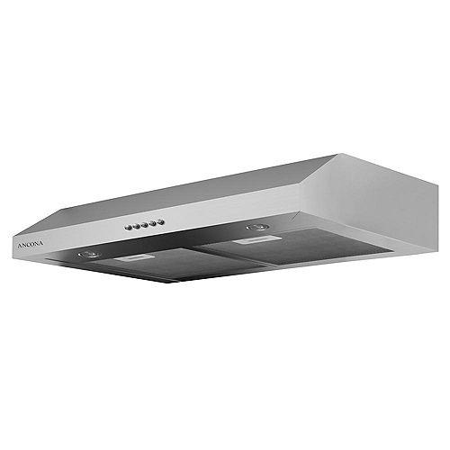 Slim Plus 30 inch Under-Cabinet Range Hood in Stainless Steel