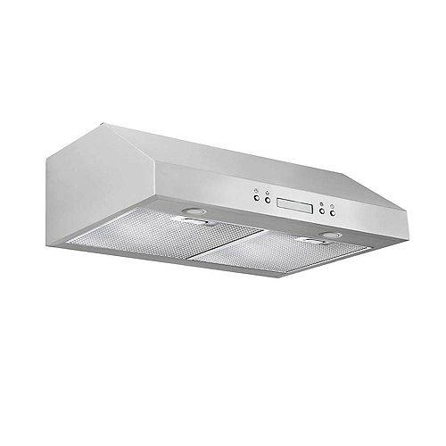 Ancona UCP430 30 inch Under-Cabinet Range Hood in Stainless Steel