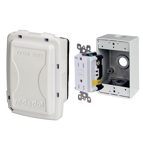 Kit métal DDFT couvercle medium blanc