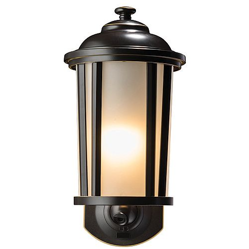 Traditional Smart Security Light - Oil Rubbed Bronze