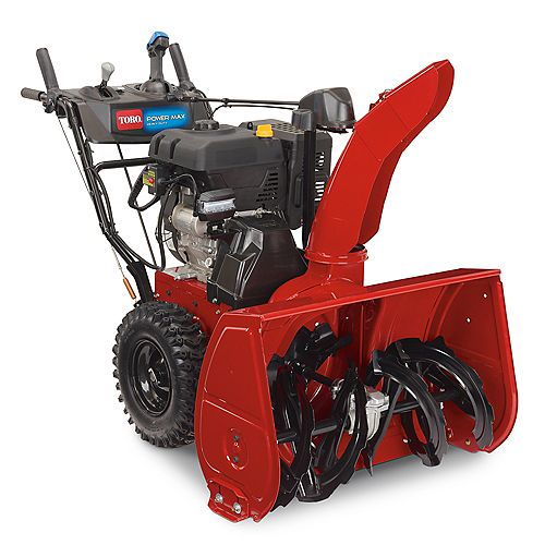 Souffleuse à neige à essence à deux phases Power Max® HD 928 OAE de 71 cm (28 po) et 265 cm³, avec démarrage électrique