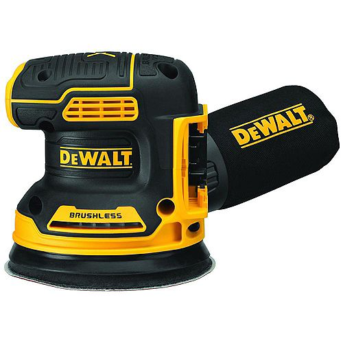 DEWALT 20V MAX XR Lithium-Ion Cordless Brushless 5-inch Random Orbital Sander (Tool-Only)