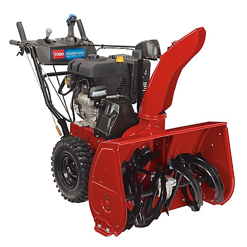 Power Max HD 1232 OHXE 32 inch 375 cc Two-Stage Electric Start Gas Snow Blower