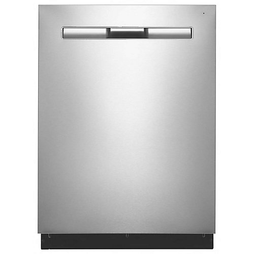 Top Control Dishwasher in Fingerprint Resistant Stainless Steel with Stainless Steel Tub, 48 dBA