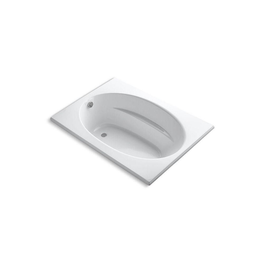 """KOHLER Windward(R) 60"""" x 42"""" drop-in rim style bath and end drain"""