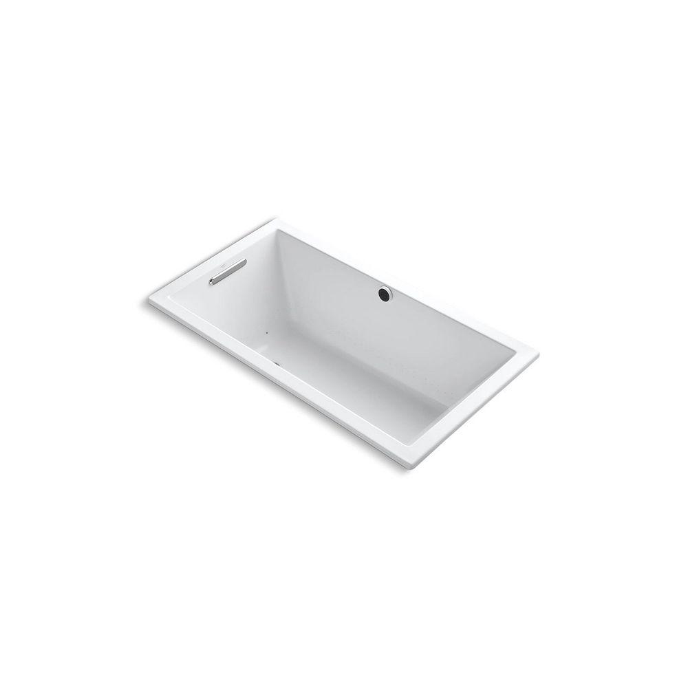 KOHLER Underscore 5 ft. Air Bath Tub In White