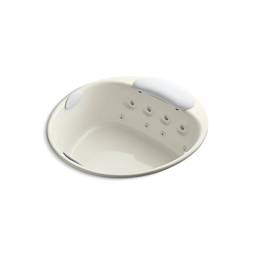 "Riverbath(R) 66"" drop-in whirlpool with heater without jet trim"