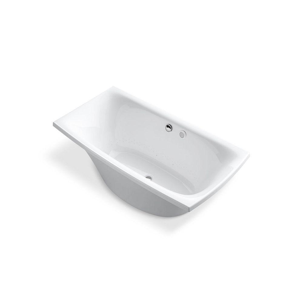 KOHLER Escale 6 ft. Air Bath Tub In White