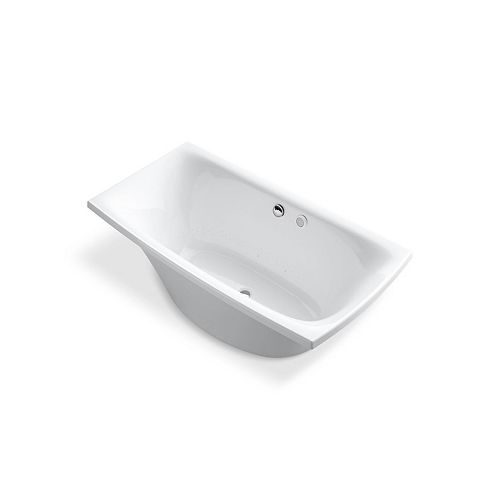 KOHLER Escale 6 ft. Air Bath Tub In White