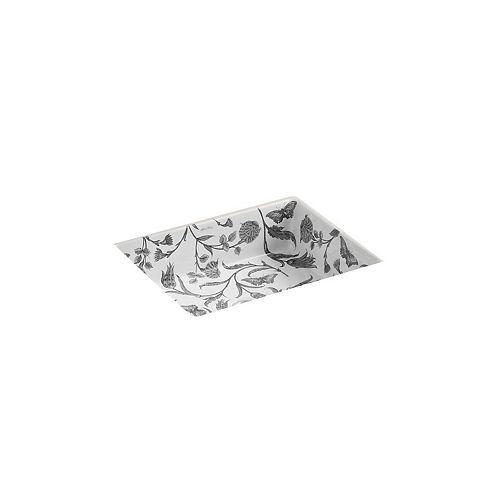 KOHLER Lavabo de salle de bain en sous-surface Kathryn, motif Botanical Study