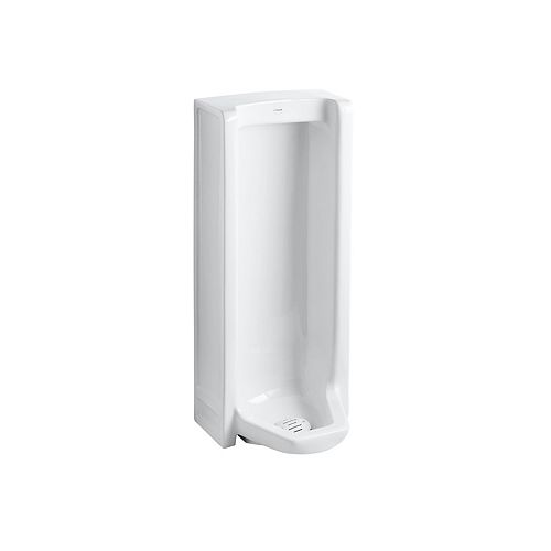 Branham Washout Floor-Mount 1 Gpf Urinal With Rear Spud In White