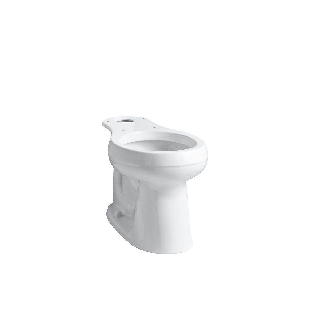 KOHLER Cimarron Comfort Height Round-Front Bowl With 10 inch Rough Inch In White