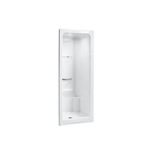 Sonata 36 inch X 36-1/2 inch X 90 inch Shower Stall in White