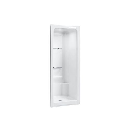 Sonata 36 inch X 36-1/2 inch X 90 inch Shower Stall in White