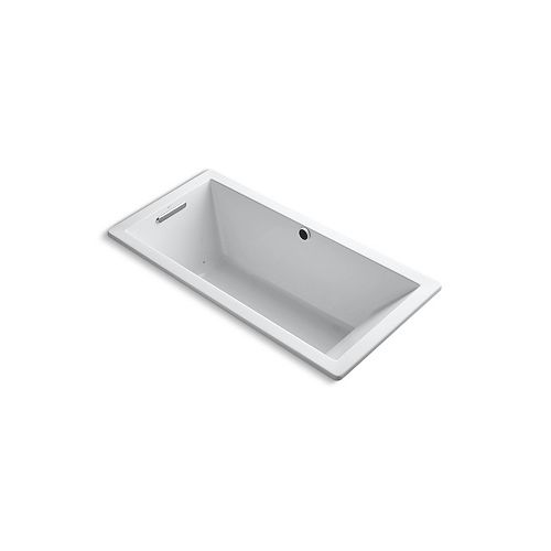 KOHLER Underscore 5.5 ft. Air Bath Tub In White