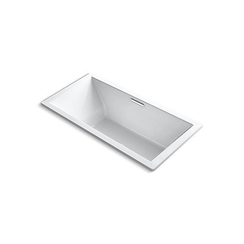 "Underscore(R) Rectangle 72"" x 36"" drop-in bath with center drain"
