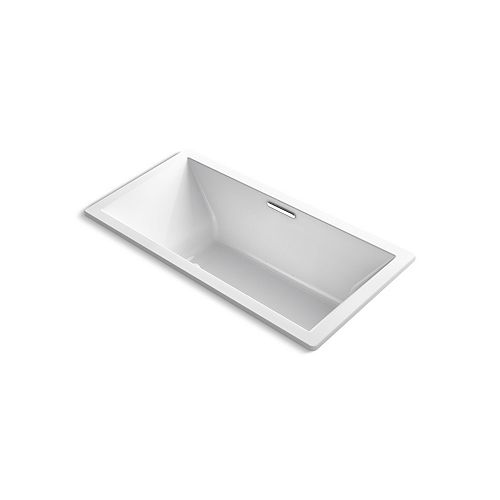 KOHLER Underscore 6 ft. Air Bath Tub In White