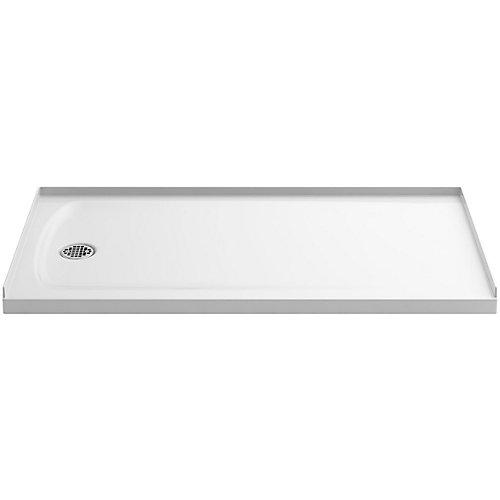 Ballast 60 inch X 32 inch Single Threshold Shower Base In White