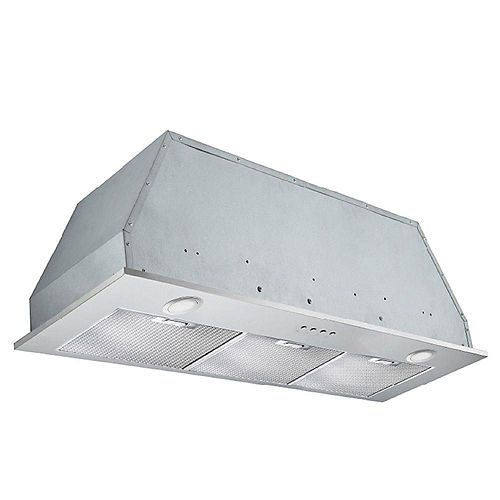 Inserta Plus 36-inch Built-In Range Hood in Stainless Steel
