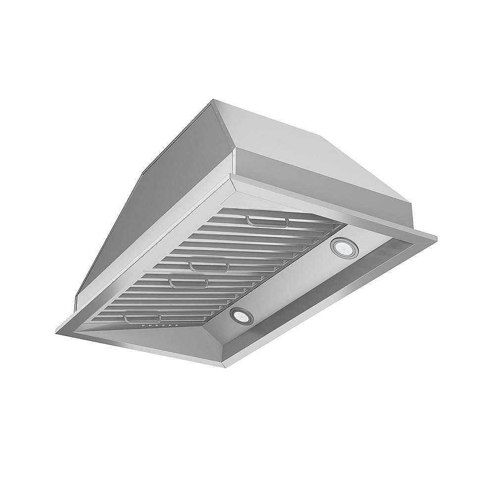 Ancona Chef Built-In 28 inch Range Hood in Stainless Steel