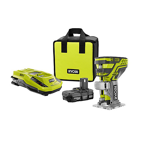 18V ONE+ Lithium-Ion Cordless Router Kit w/ 1.3Ah Compact Battery