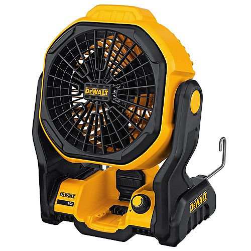20V MAX Lithium-Ion Cordless and Corded Jobsite Fan (Tool-Only)