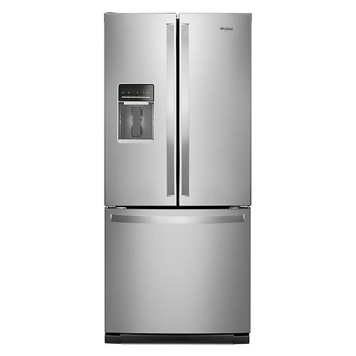 30-inch W 20 cu.ft  French Door Refrigerator in Fingerprint Resistant Stainless Steel