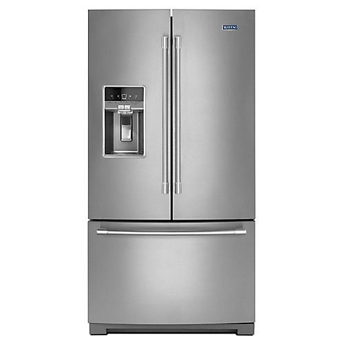 36-Inch W 27 cu.ft. French Door Refrigerator in Fingerprint Resistant Stainless Steel