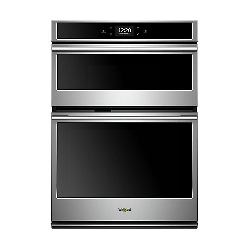 30-inch 6.4 cu. ft. Smart Double Electric Wall Oven & Microwave in Fingerprint Resistant Stainless Steel