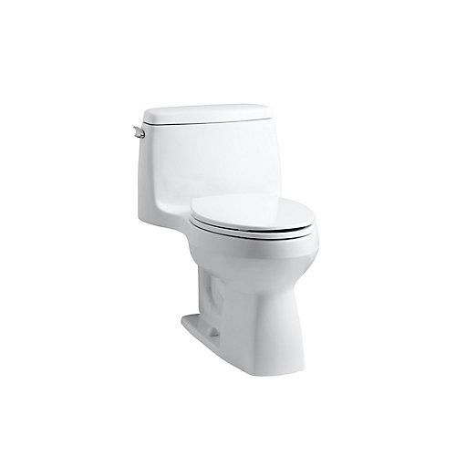 Santa Rosa 1-Piece 1.6 Gpf Compact Elongated Toilet With Aquapiston Flush Technology In White
