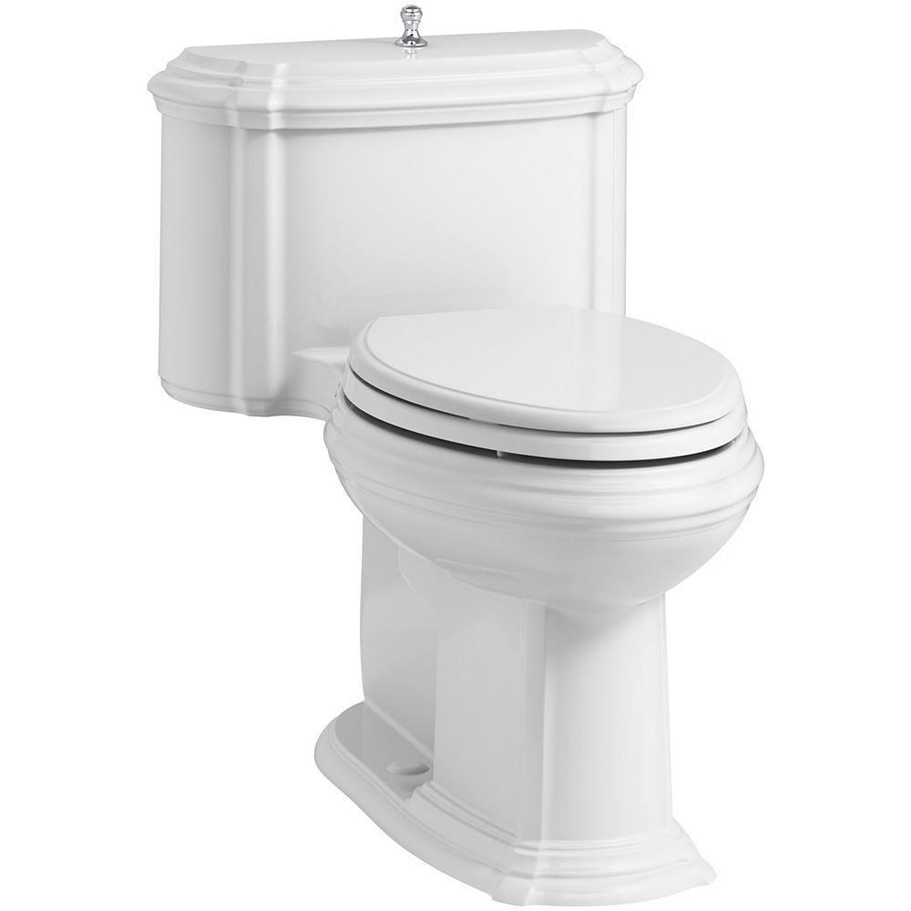 KOHLER Portrait 1-Piece 1.28 Gpf Elongated Toilet With Aquapiston Flush Technology In White
