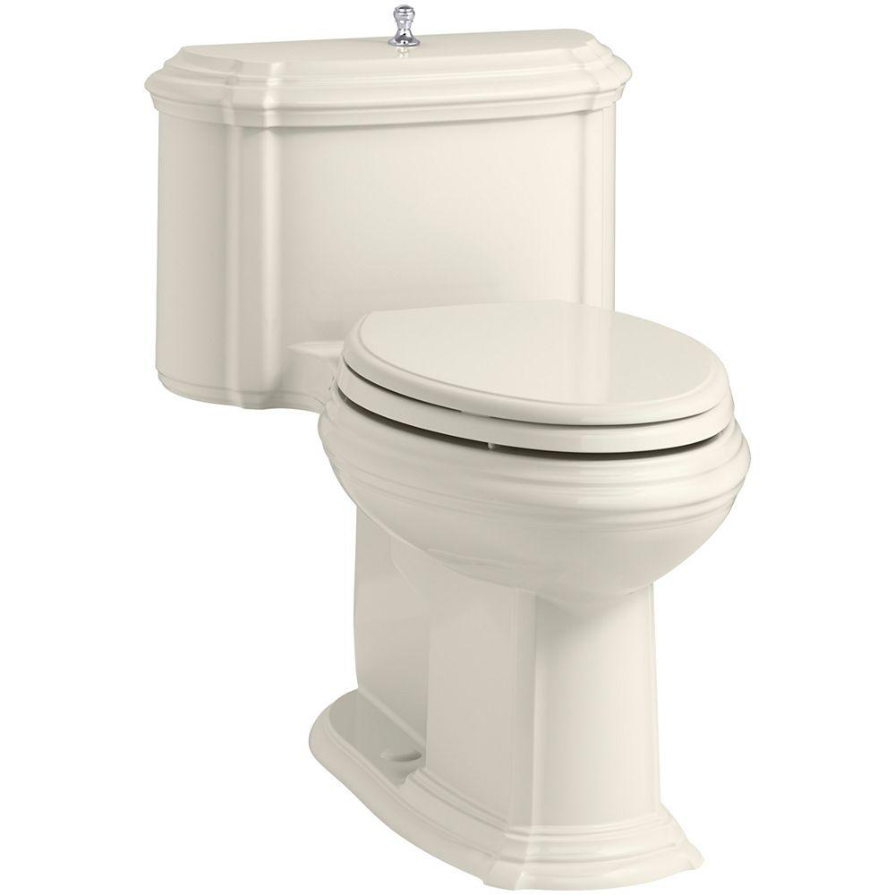 KOHLER Portrait 1-Piece 1.28 Gpf Elongated Toilet With Aquapiston Flush Technology In Biscuit