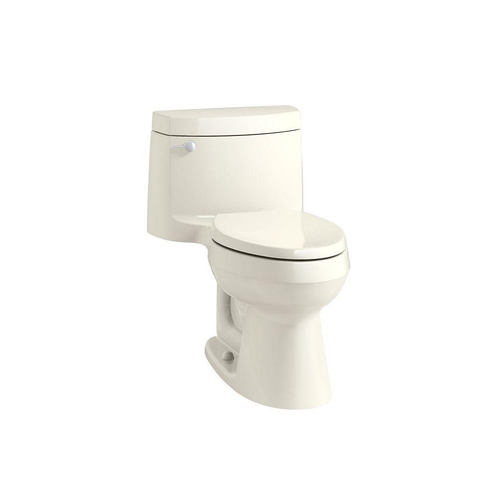 KOHLER Cimarron 1-Piece 1.28 Gpf Elongated Toilet In Biscuit