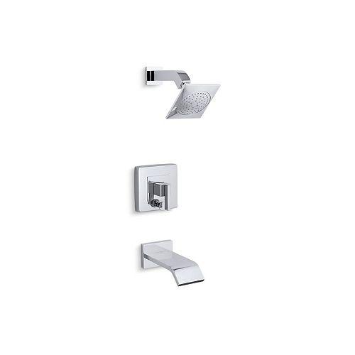 KOHLER Loure(R) Rite-Temp(R) bath/shower trim set