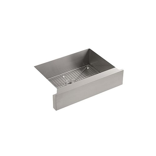 KOHLER Vault Undercounter Stainless Steel 29.5X21.25X9.313 0-Hole Single Bowl Kitchen Sink