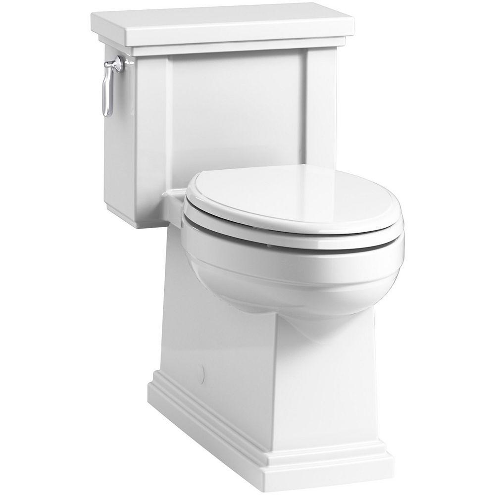 KOHLER Tresham 1-Piece 1.28 Gpf Single Flush Elongated Toilet In White