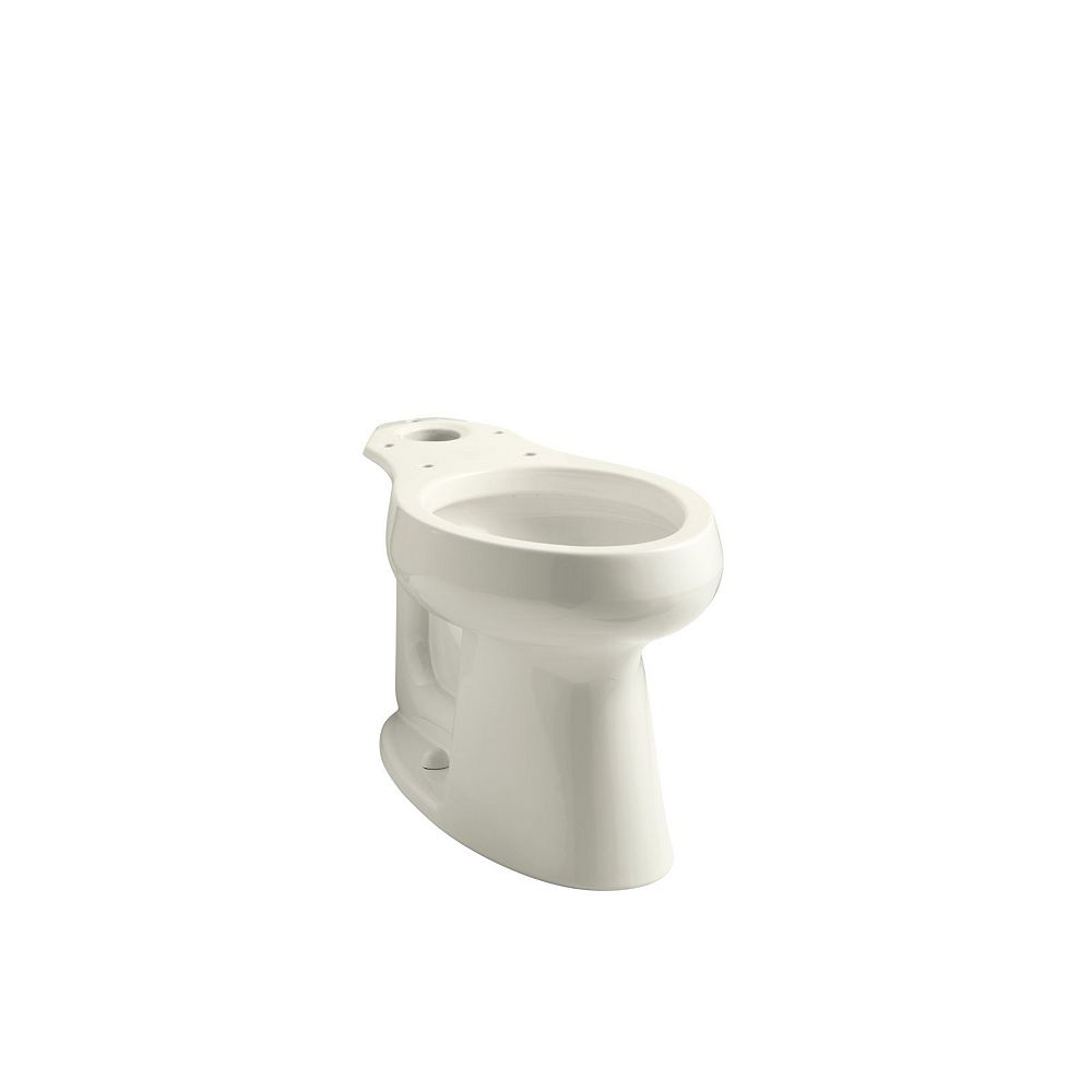 KOHLER Highline Comfort Height Elongated Toilet Bowl Only In Biscuit