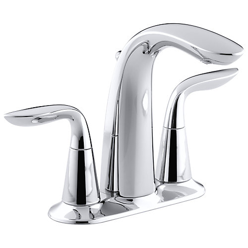 Refinia(R) centreset bathroom sink faucet with lever handles