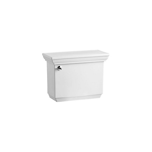 Memoirs Comfort Height 1.6 Gpf Toilet Tank Only With Aquapiston Flush Technology In White