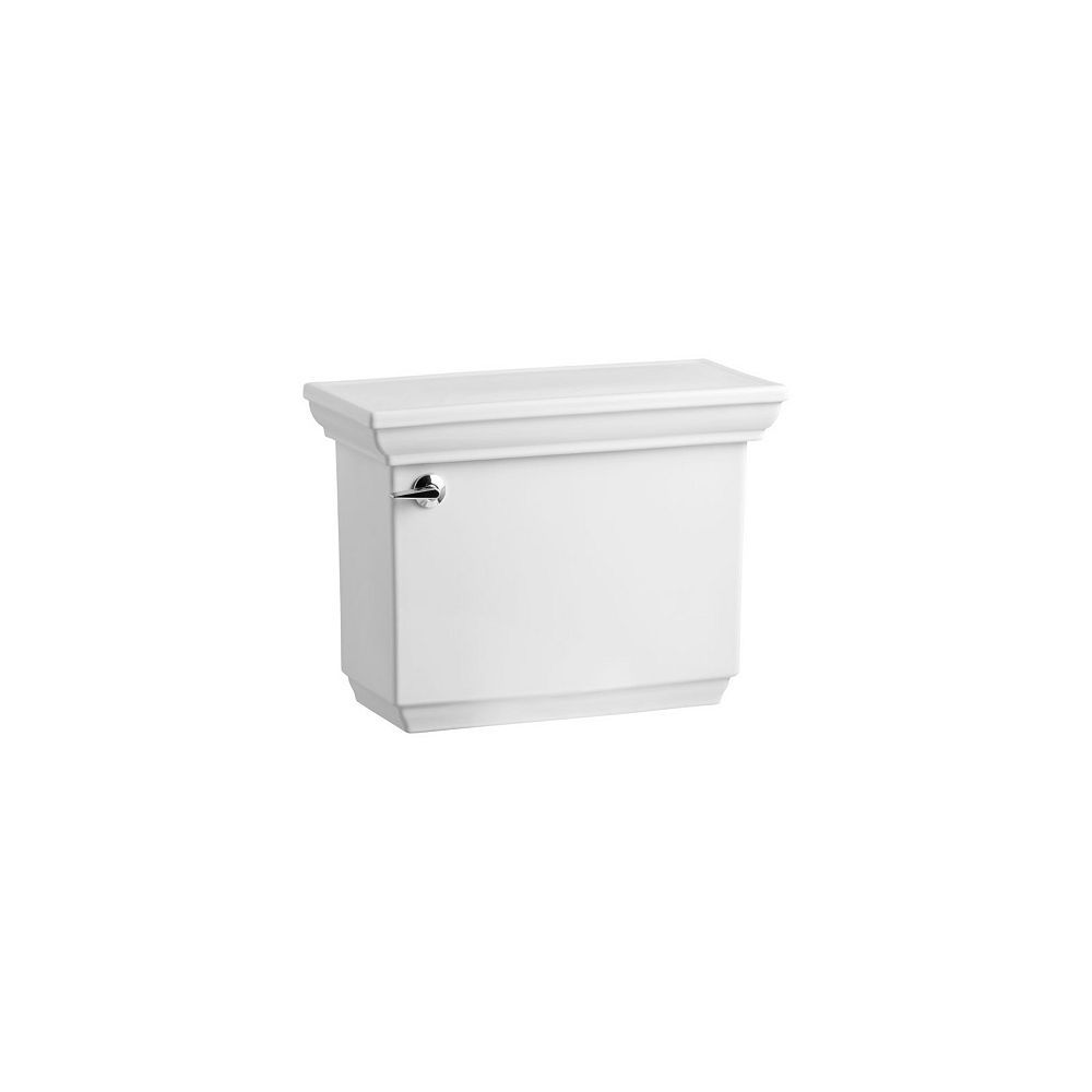 KOHLER Memoirs Comfort Height 1.6 Gpf Toilet Tank Only With Aquapiston Flush Technology In White