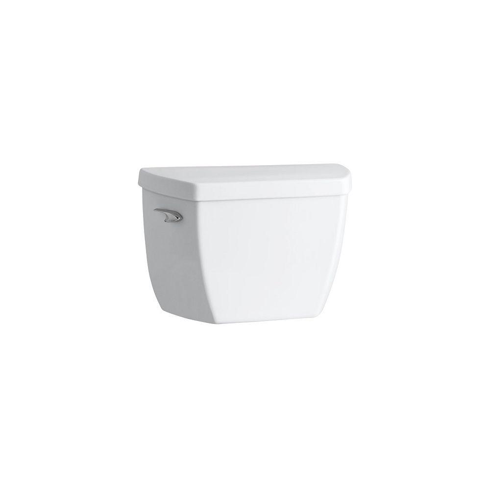 KOHLER Highline Classic Pressure Lite 1.6 Gpf Toilet Tank Only With Tank Only Cover Locks In White