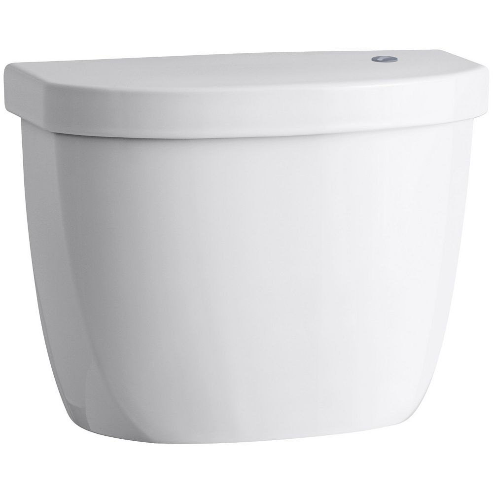 KOHLER Cimarron Touchless 1.28 Gpf Single Flush Toilet Tank Only In White