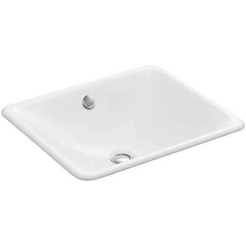 Iron Plains(R) drop-in/under-mount bathroom sink