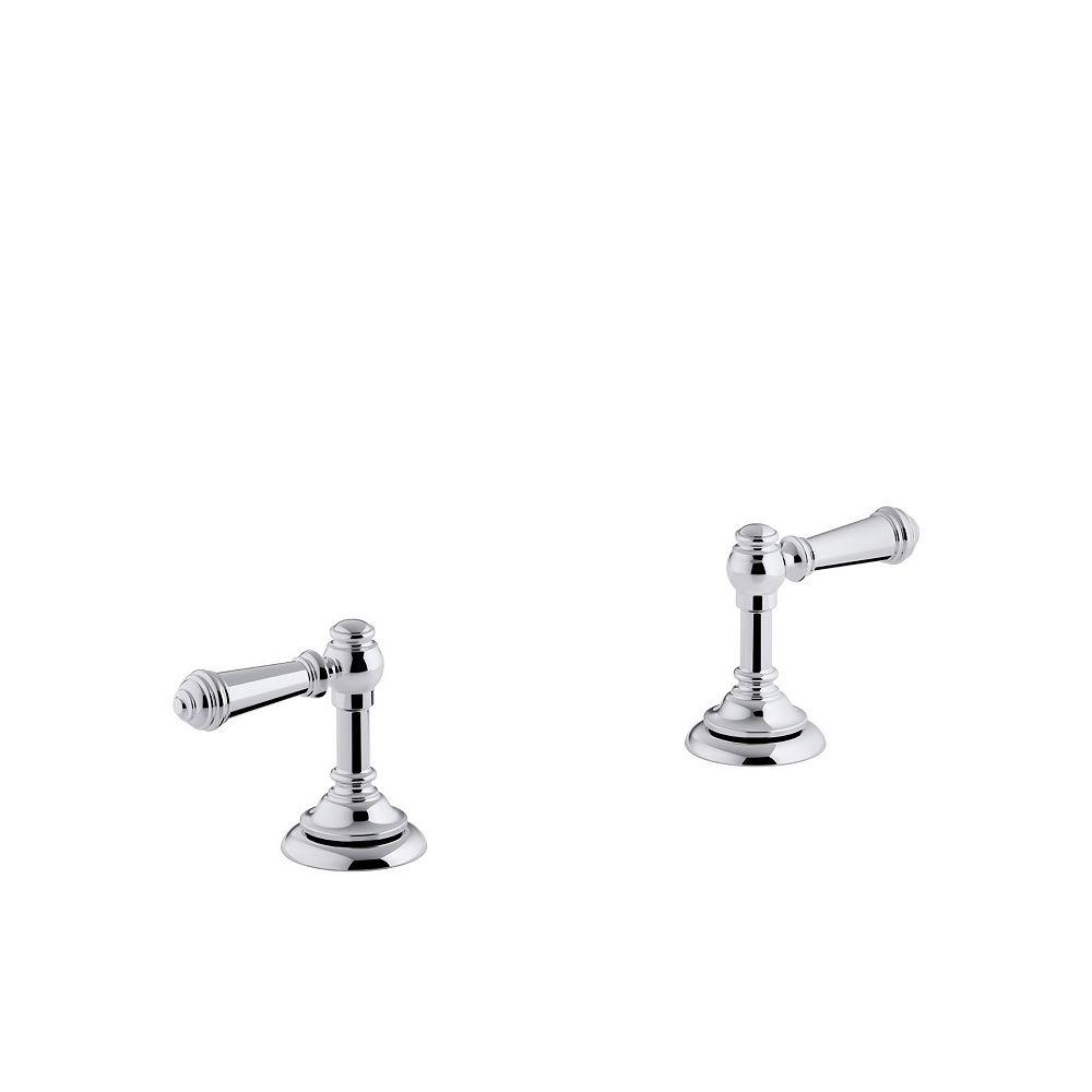 KOHLER Artifacts(R) bathroom sink lever handles