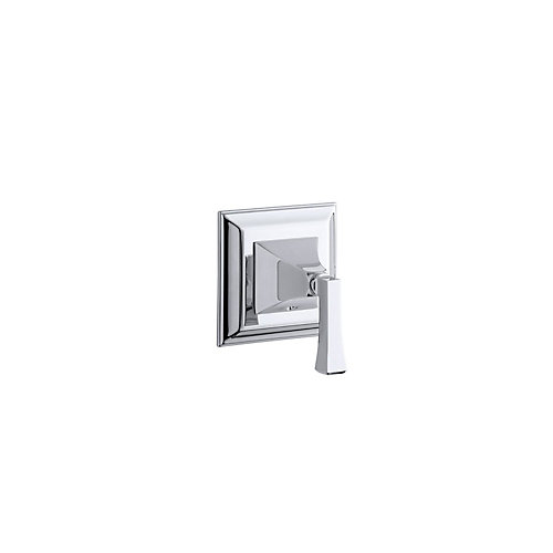 Memoirs Stately Valve Trim With Deco Lever Handle For Transfer Valve In Polished Chrome