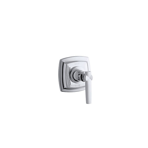 Margaux Valve Trim With Lever Handle For Volume Control Valve, Requires Valve, Polished Chrome